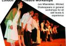 theatre breaks education - drama workshops for school groups
