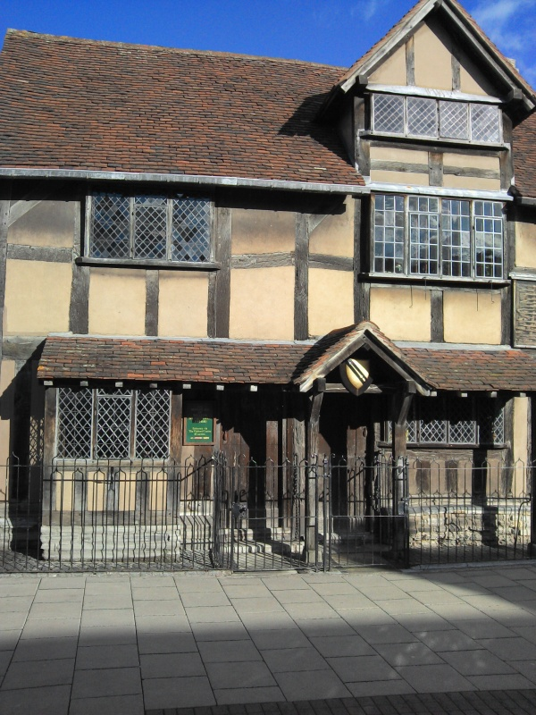 Shakespeare's birthplace in Stratford -upon-Avon