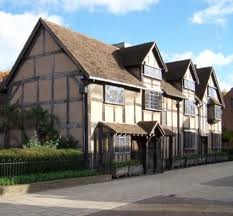 Stratford-Upon-Avon - Shakespeare Birthplace where the will is to be displayed