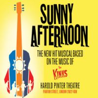 Sunny Afternoon £99 Theatre Breaks