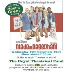 Made in Dagenham : A very special performance