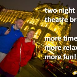 romantic theatre breaks for valentines day