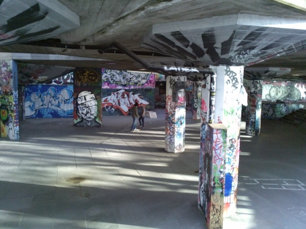 Skate park on the Southbank