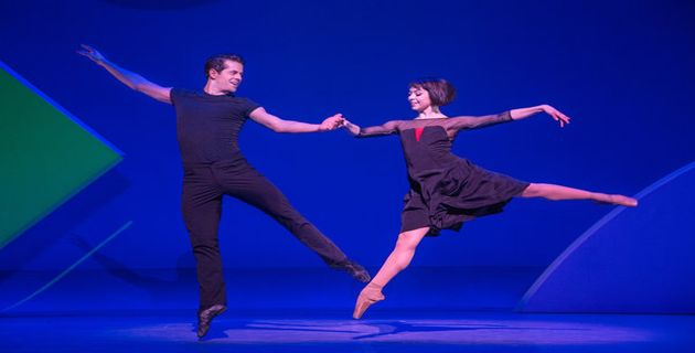 Robert Fairchild and Leanne Cope in the original Broadway production of An American in Paris