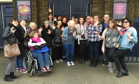 musical walking tours in London - everyone joins in