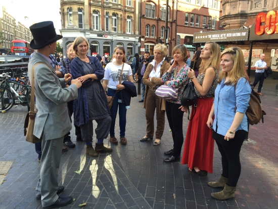 Musical Theatre Tuor Guide - Walking London