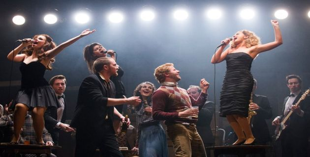 Original cast members in the London production of The Commitments