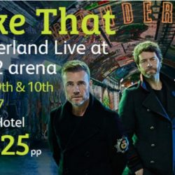 Take That Wonderland O2 London 2017